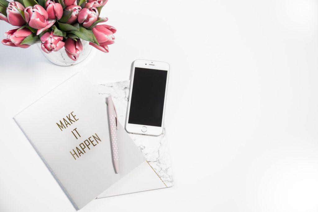 routine carnet de notes pour être plus productif
