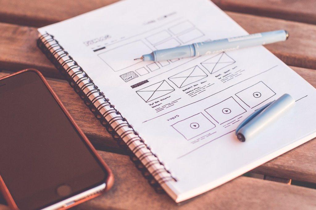 designer wireframes